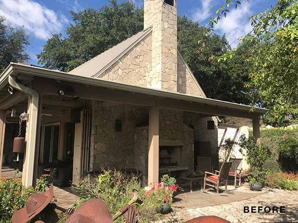 guadalupe river house, The Guadalupe River House Project: Before and After